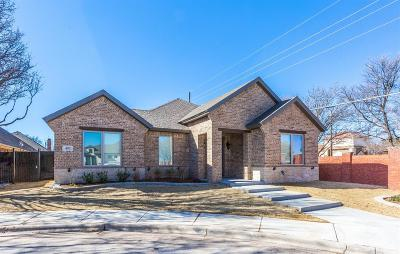 Lubbock Garden Home For Sale: 402 Topeka Avenue