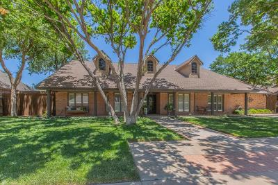 Lubbock Single Family Home Under Contract: 4608 87th Street