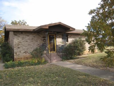 Slaton Single Family Home Under Contract: 1100 S 13th Street
