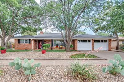 Slaton  Single Family Home Under Contract: 1555 W Crosby Street