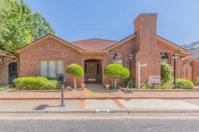 Lubbock Garden Home For Sale: 4803 French Quarter Court