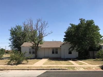 Lubbock County Single Family Home Under Contract: 1301 37th Street