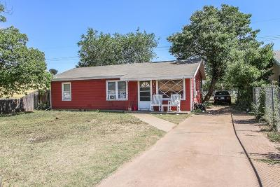 Lubbock County Single Family Home For Sale: 2112 E 30th Street