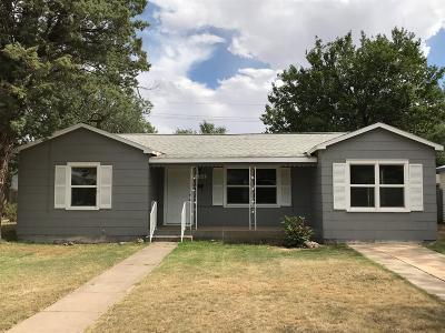Lubbock TX Single Family Home For Sale: $188,900
