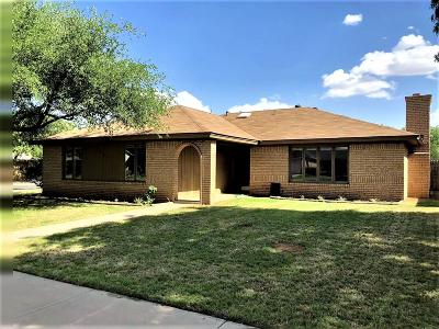 Lubbock TX Single Family Home For Sale: $188,950