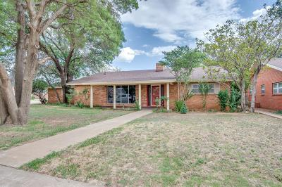 Shallowater TX Single Family Home Under Contract: $199,000