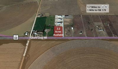 Lubbock Commercial Lots & Land For Sale: 9402 Farm Road 1585