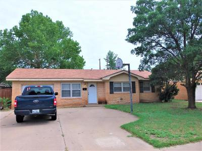 Lubbock County Single Family Home Under Contract: 2816 63rd Street