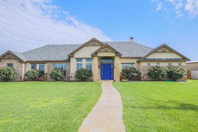 Lubbock Single Family Home Under Contract: 1808 County Road 7570