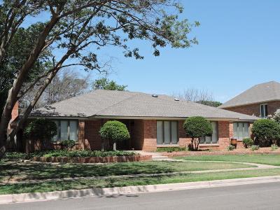 Lubbock Single Family Home For Sale: 1806 Bangor Avenue