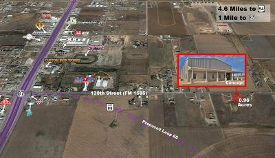 Lubbock Commercial Lots & Land For Sale: 608 E Farm Road 1585