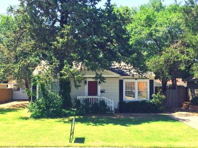 Lubbock Rental For Rent: 2621 27th Street