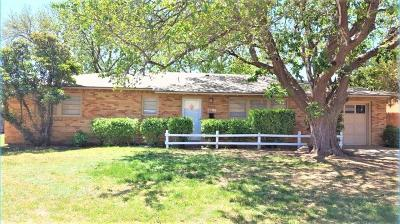 Lubbock Rental For Rent: 3709 45th Street