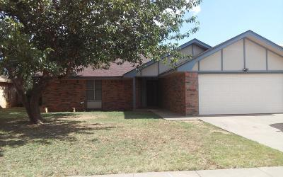 Lubbock Rental For Rent: 3529 102nd Street