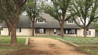 Slaton Single Family Home Under Contract: 16014 County Road 3460