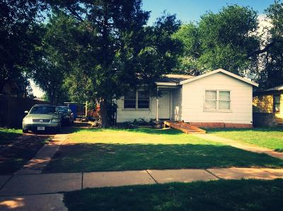 Lubbock Single Family Home For Sale: 614 39th Street