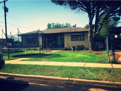 Lubbock Single Family Home For Sale: 626 39th Street