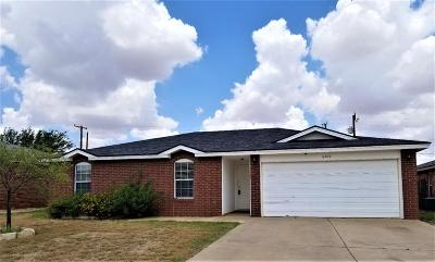 Single Family Home For Sale: 6404 33rd Street
