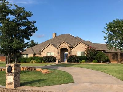 Lubbock Single Family Home For Sale: 16003 County Road 1820