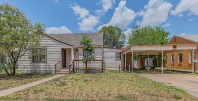 Lubbock Single Family Home For Sale: 1908 22nd Street
