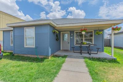 Lubbock Single Family Home Under Contract: 601 29th Street