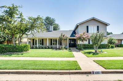 Single Family Home For Sale: 4911 93rd Street