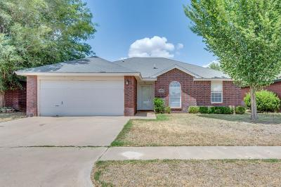 Lubbock Single Family Home Under Contract: 6112 14th Street