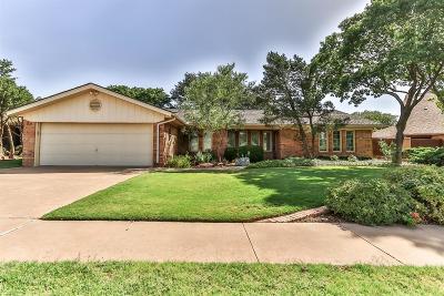 Lubbock Single Family Home For Sale: 5810 Colgate Street