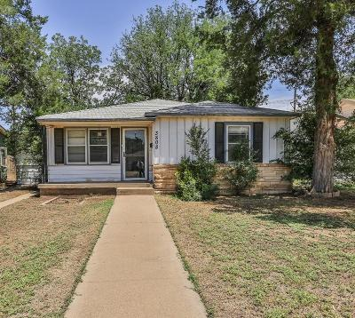 Single Family Home Under Contract: 3808 25th Street
