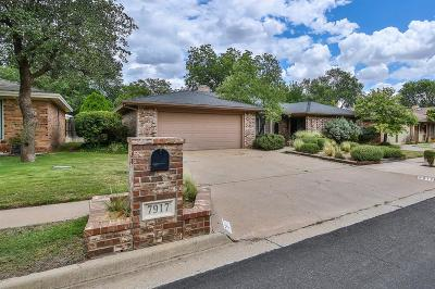 Lubbock Single Family Home Under Contract: 7917 Vicksburg Avenue