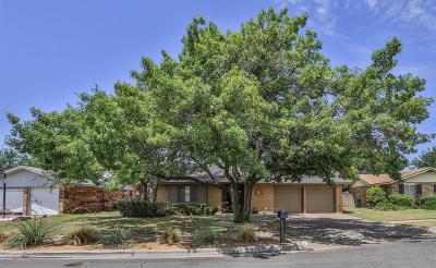 Lubbock Single Family Home For Sale: 8204 Lynnhaven Avenue