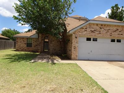 Lubbock Rental For Rent: 6919 Homestead