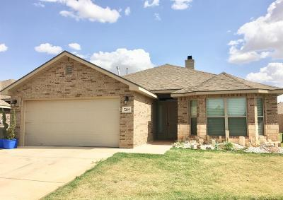 Lubbock Single Family Home For Sale: 7209 95th Street