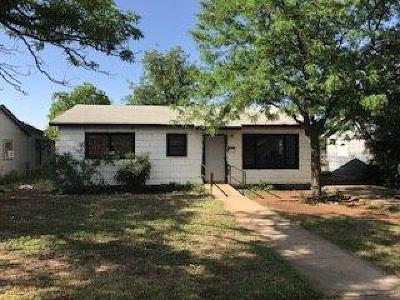 Lubbock County Single Family Home For Sale: 1808 E 25th Street
