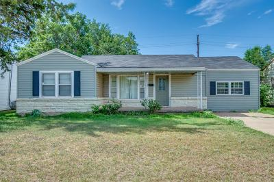Lubbock Single Family Home For Sale: 3417 28th Street