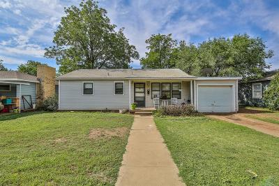 Lubbock Single Family Home For Sale: 4315 32nd Street