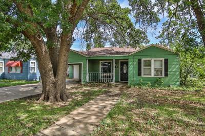 Lubbock Single Family Home For Sale: 2616 31st Street