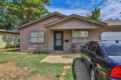 Single Family Home For Sale: 2114 32nd Street