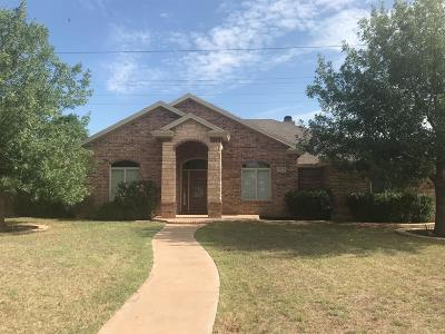 Lubbock Single Family Home For Sale: 3722 107th Street