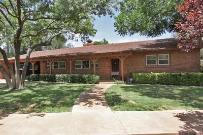 Lamesa Single Family Home Under Contract: 207 Terrace Circle