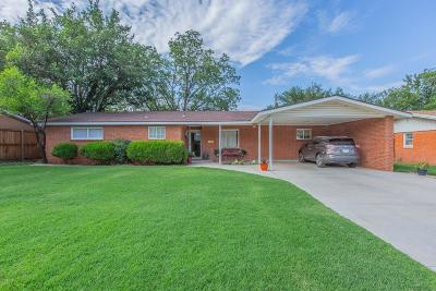 Lubbock Single Family Home For Sale: 3709 42nd Street