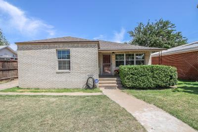 Slaton Single Family Home For Sale: 1030 W Garza Street