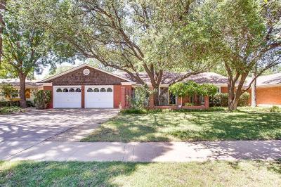 Lubbock Single Family Home For Sale: 5606 Geneva Avenue