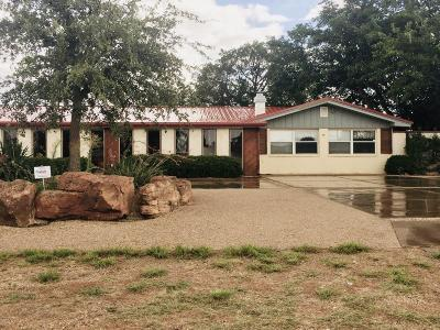 Lubbock Single Family Home Under Contract: 1923 90th Street