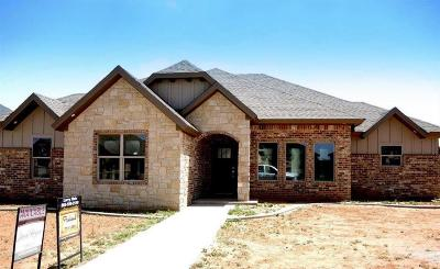 Lubbock Single Family Home For Sale: 7025 99th