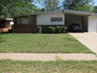 Lubbock TX Single Family Home Under Contract: $60,000