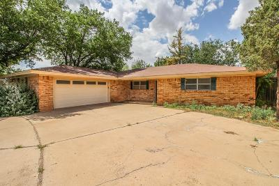 Lubbock Single Family Home For Sale: 1630 57th Street