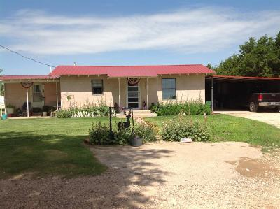 Bailey County, Lamb County Single Family Home For Sale: 470 County Road 44