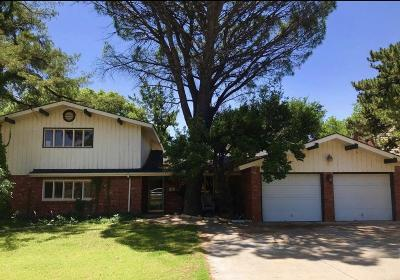 Lubbock Single Family Home For Sale: 3707 68th Street