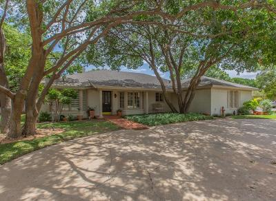 Lubbock Single Family Home For Sale: 3505 93rd Street